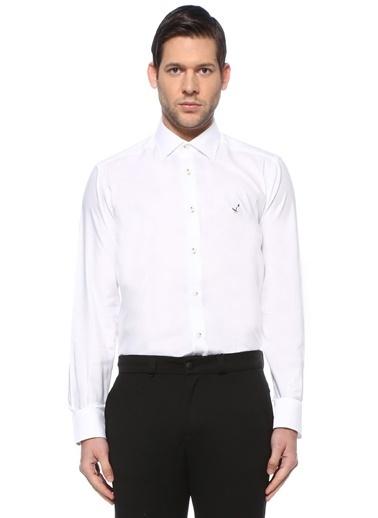 Beymen Club Beymen Club  Modern Yaka Gömlek 101595536 Beyaz